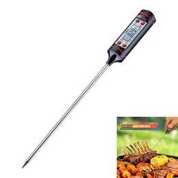 Canada Thermomètres de cuisson portables Thermomètre de cuisson en inox Habor Digital avec écran LCD à longue sonde à lecture instantanée Offre