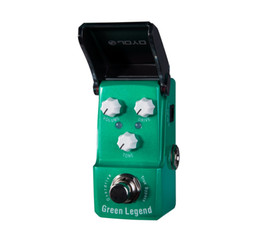 Wholesale Joyo Effects Pedals - JOYO Green Legend Overdrive Electric Guitar Effect Pedal with Knob Guard with True Bypass JF-319