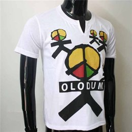 for brazil Promo Codes - MJ Fashion Brazil Retro Antiwar Michael Jackson OLODUM Cotton 100% Tee T-shirt - They Don't Care About Us' for MJ fans