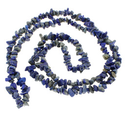 Wholesale Stone Bead Chips Bracelets - 8mm New Fashion DIY Making Loose Nuggets Beads for Bracelet Necklace Jewelry 5-8mm Real Natural Lapis Lazuli Stone Chips Beads
