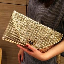 2019 sacos das senhoras do diamante Mulheres de diamante de strass ouro envelope embreagem bolsa mulheres trabalho embreagens saco bolsas de senhora de moda e bolsas desconto sacos das senhoras do diamante