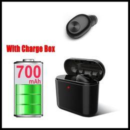 Canada BL1 V4.2 Casque de charge sans fil Bluetooth 700MAH Boîte de charge invisible dans le véhicule à oreille Mini casque Offre