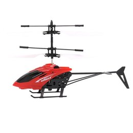 Wholesale Helicopter Indoor - Infrared Induction Helicopter Toy Hand Induction Infrared RC Helicopter Funny Toys for Kids Indoor Outdoor Flying Remote Control Birthday