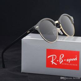 AAA + Yüksek kalite Yeni Vintage Yuvarlak güneş gözlüğü Kadın erkek marka tasarım Yüksek sokak Steampunk Gözlük Ile uv400 óculos de ... nereden