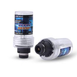 Wholesale Replacement Car Headlights - 2pcs D2S HID Xenon Replacement Light Lamp d2s xenon bulbs Car Headlight Lighting 35W 4300k 6000k 8000k 12000k