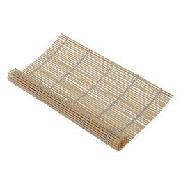 PHFU giapponese SUSHI MAT BAMBOO tappetino pad cucina giapponese 23cm x 24cm cheap bamboo sushi mat da stuoia di sushi di bambù fornitori