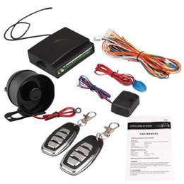 2019 système de verrouillage central Dewtreetali Système de sécurité d'alarme de voiture universel Système d'entrée sans clé de sirène Télécommande de verrouillage central + 2 télécommandes système de verrouillage central pas cher
