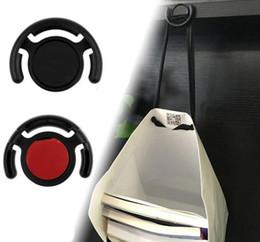 Supporto da auto per telefono Supporto da presa Supporto da parete multifunzione per iPhone Samsung Tablet nero bianco DHL Free P2 da
