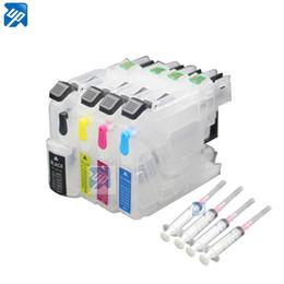 impressoras samsung Desconto LC223 lc225 recarregável cartucho de tinta para o irmão J562DW J480DW J680DW J880DW 4120DW J4420DW J4620 J4625DW impressora com chip ARC