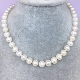 Wholesale Bridal Pearl Necklace - 2018 In Stock Bridal Jewelry Women Pearls Necklace Generous Wedding 2017 Bridal Accessory Cheap Necklace for Various Occasion Free Shipping