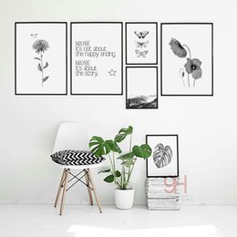 Wholesale Butterfly Canvas Wall Art - Nordic Style Canvas Art Print Painting Poster, Butterfly Wall Pictures for Home Decoration, Wall Decor BW006
