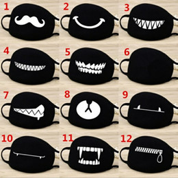 cotton masks Coupons - Face Mouth Mask Unisex 12 Style Camouflage Mouth-muffle Unisex Respirator Stop Air Pollution Cartoon Lovely Cotton Mask