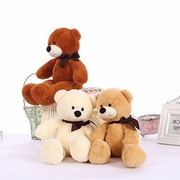 Wholesale Gifts For Gf - 38cm Soft Cuddly Kids Toys Small Teddy Bears Stuffed Plush Toys for Children Girls GF Birthday Gifts