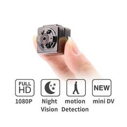 домашнее видео скрытая шпионская камера Скидка HD 1080P спорт мини-камера SQ8 мини-DV диктофон инфракрасный ночного видения цифровой небольшой камеры видеокамеры с розничной коробке