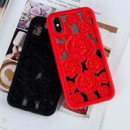 2019 design do telefone da pele Luxo rose phone cases para iphone x iphone 7 8 6 6 s além de protetor de silicone tampa da pele shell caso design defensor gsz466 design do telefone da pele barato