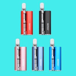 Batterie 3.5v en Ligne-Original Vapmod Magic 710 Vape Mod Kit E Cigarettes 380mAh 3.5V Support de batterie intégré 60mins Charge rapide Toutes les cartouches de filetage M7