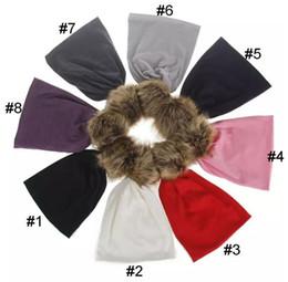 Wholesale Hair Bulb - Baby Autumn Winter Hair Bulb Hats Kids Solid Knitting Caps Trendy Beanie Boys Girls Warm Caps B11