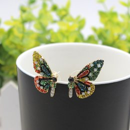 2019 produttori di gioielli coreani I produttori che vendono orecchini pendenti a farfalla indossano temperamento moda orecchini coreani per gioielli da donna