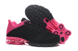chaussure cesto femme Sconti Scarpe da corsa rosa Shox donna Shox nere Scarpe da basket Chaussure Femme Nz zeppa scarpe da ginnastica Zapatillas Mujer OZ