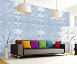 Wholesale Cafe Abstract - Classic home ktv hotel cafe shop decor More color Waterproof fish Shape Designed Light-weight 3D PVC Wall Ceilling Panels