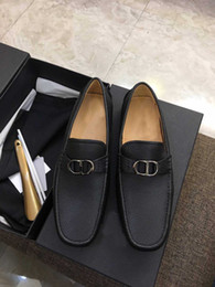 Wholesale cattle brands - 2018 new high-end fashion shoes, fashion brand, size 5-10, shoes deluxe business men's derby of cattle leather shoes, welcome to order