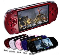 Wholesale free video arcade - 2018 Hot 4.3 Inch PMP Handheld Game Player MP3 MP4 MP5 Player Video FM Camera Portable 4GB 8GB Game Console Free Shipping