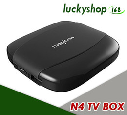 mini pc android google tv Promo Codes - Android 7.1 TV Box 2GB RAM 16GB ROM Amlogic S905X Quad Core Supports 2.4G Wifi 4K H.265 Media Player Mini PC 2G 8G Magicsee N4 Set Top Box