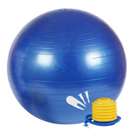 stabilità yoga Sconti 75 cm di esercizio professionale anti Burst Stabilità e Yoga Ball per Fitness Balance Gym Workouts Pompa inclusa