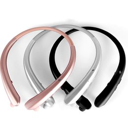 universal high quality wireless bluetooth headset Promo Codes - High Quality CSR4.1 Bluetooth Headphone Earphones HWS916 New Sports Wireless Music Long Standby Bluetooth Headset Stereo Headphones