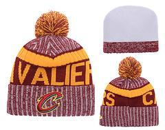 Wholesale Sports Team Beanies - 2018 Cleveland Beanies Fashion lebron James Skull Caps High Quality Hat Cotton Winter Caps Sports Basketball Teams Hottest Hat