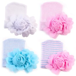 4a10ddb018f spring 2017 newborn hospital hat toddler girls flowers hats caps winter baby  hats wholesale infant knitted hat beanie crochet bonnets new