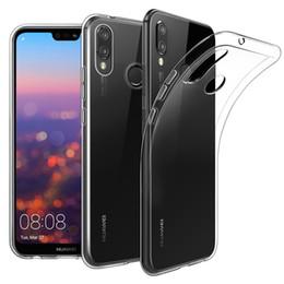0.8mm Effacer TPU Retour Housse En Silicone Souple Pour Huawei P20 P10 P8 Lite Mate10 Pro Honor 8 9 Coquille De Protection ? partir de fabricateur