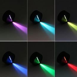 Wholesale Ball Light Table Lamp - 3D LED Night Lights Base for 3D Illusion Lamp 4mm Acrylic Panel Table Lamps RGB 7 Colors decorations DC5V USB or AA Battery