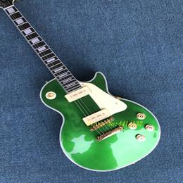 guitarras zakk wylde Rebajas tienda personalizada 1956 oro 2 P90 pastillas guitarra eléctrica mejores instrumentos musicales