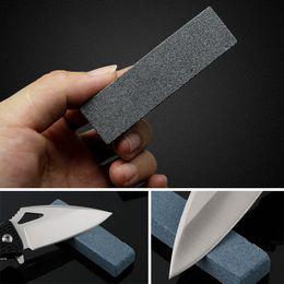 Wholesale sharpener fix angle - Knife Sharpening Stone Combination Double Side Whetstone Grindstone Professional Fixed Angle Diamond Outdoor Knife Sharpener Wholesale
