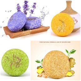 Shampoo-paket online-Heiße handgemachte Haar-Shampoo-Seife reine natürliche Seife Zimt-Rosen-Shampoo-Stab 100% reines Haar-Shampoo-Haar-Sorgfalt-Werkzeug Maquiagem mit Zinn-Paket