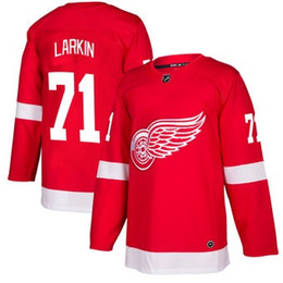 Wholesale Icing Store - 2018 nhl hockey jerseys cheap custom Men's Detroit Red Wings Dylan Larkin Red Authentic Player Jersey store usa sports ice hockey jersey AD