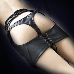 2019 jouets sexy pour femme femme sexy jupe rosée fesses bondage en cuir BDSM jouets sexuels pour adultes pour les femmes contraintes fétichisme contraintes jouets sexy pour femme pas cher
