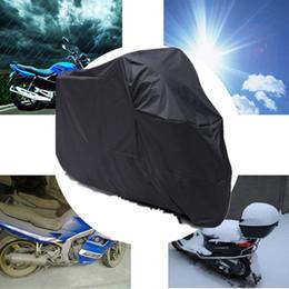 Canada All Season Noir Étanche Sun Moto Housse Pour Honda Kawasaki Yamaha Suzuki Harley Touring Harley Road King Electra Glide Offre