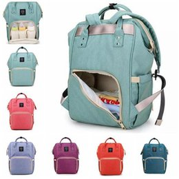 Wholesale Towel Nappies - 14 Colors New Multifunctional Baby Diaper Backpack Mommy Changing Bag Mummy Backpack Nappy Mother Maternity Backpacks CCA6787 Towel
