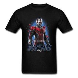Dessus de fer en Ligne-2018 Date Iron Man Géant Fourmi Guêpe Graphique T-shirt Pour Hommes Cool Conception De Mode Tops T-shirt En Solde D'été Vêtements Chemise Top Qualité