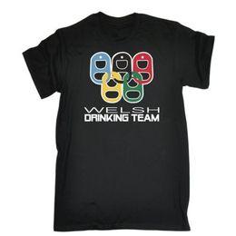 Drinking Joke Pub Bar Welsh Drinking Team Bar T-SHIRT cadeau d'anniversaire ? partir de fabricateur