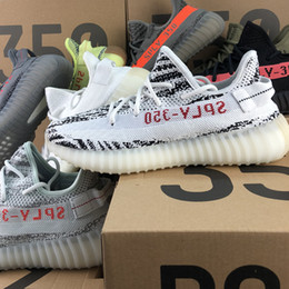 Sply 350 V2 Butter F36980 Cream White SPLY-350 Best Quality Zebra CP9654 Kanye West Men Women Neutral Running Trainers Seankers Sports Shoes