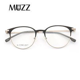 85ea81b282 light eyeglass frames Canada - MUZZ Ultra light Optical Frames New Fashion  Women Glasses Frame Men