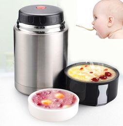Wholesale Rice Pot - 800ML Stew pot simmered beaker boiling soup rice eggs porridge braised stew vacuum lunch box braised beaker ice box