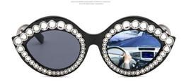 2019 óculos de sol de cristal atacado Atacado-New Fashion Lips Forma Óculos De Sol Sexy Ladies Verão Estilo Óculos Full Frame Sun Glasses com Crystal Stone óculos de sol de cristal atacado barato