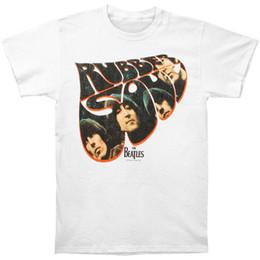 Deutschland Beatles Männer Gummi Soul T-Shirt Weiß Rockabilia supplier rubber shirts Versorgung