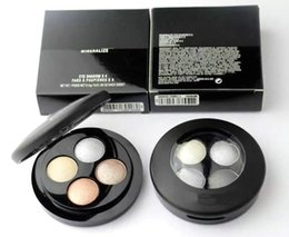 Wholesale Best New Products - Brand new high quality best-selling products free shipping to collect mineral composition 4 color eye shadow 0.5 g