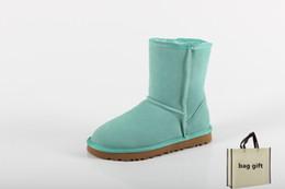 Designer hiver bottes femmes hommes femmes neige wgg mode luxe wgg bottines d'hiver stivali invernali Botas de mujer stivali donna ? partir de fabricateur