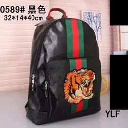 bf0748dc96a1 Hot Classic Fashion bags Black women men Backpack Style Duffel Bags Unisex  Shoulder bag Handbags school bag 0589